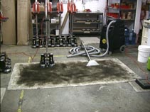 Rotovac Carpet Steam Cleaning Northern VA dirty